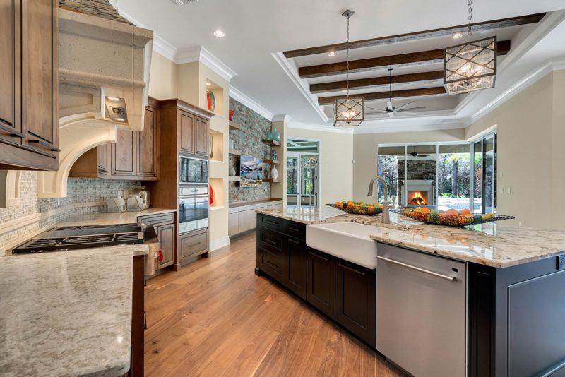 custom indoor kitchen